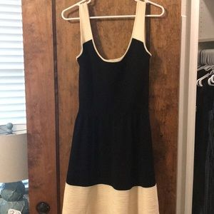 Kate Spade Black and White Sweater Dress